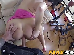 Chubby slut Devon gets her pussy invaded by the horny cop