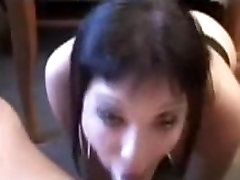 Emo girl throat fucked hard by big cock