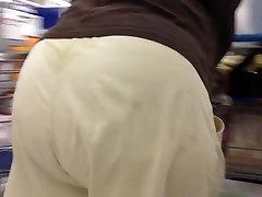 Hot sweaty bbw granny ass 4