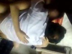 Arab Couple pokes in public