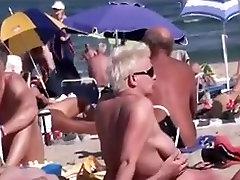 Nude Beach - Lewd Couples Public Exhiibitions - p1trick