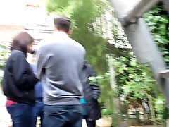 Nice ass neighboor candid in jeans
