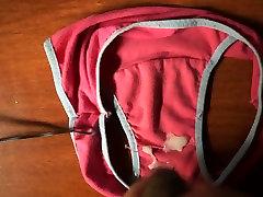 Cumming in a little pair of panties