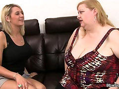Heavy boobs fatty rides black dick