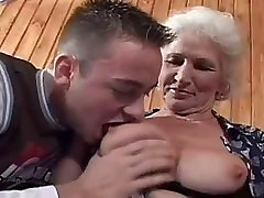 Granny in sex class. Full video