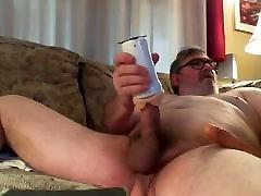 Dad&039;s Ass Play and Cum