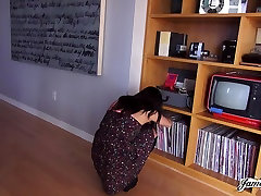 JamesDeen.com - Petite Black Amateur in Casting Couch Fuck