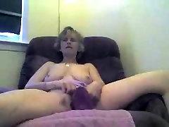 Mature masturbation and blowjob