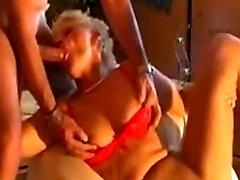 Hot Mature Wife fucked thorough nylons