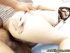 Booty Asian Babe Hardcored part4