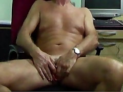 FtM Transman spreading open and gently fingering frontal hole