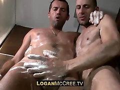 Marco Rocalle and Joe Bexter - Shower - Massage - Sex - LoganMcCree.tv