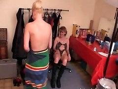 Young and mature slut enjoying hardcore group sex