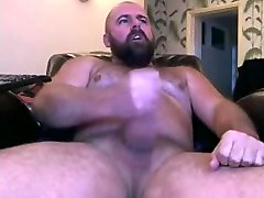 Handsome Bear Shoots a Load