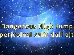 Dangerous High Jumps extreme trampling