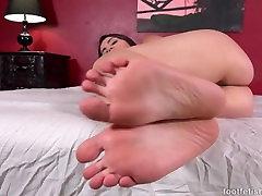 Valentina Nappi POV Feet Tease
