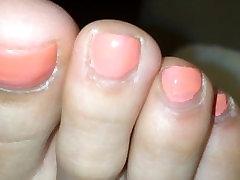 Asian Feet close up