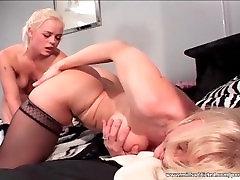 Nina Hartely in hot lesbian sex with amazing blonde babe