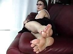 Big Sexy Wrinkly Mature Asian Feet! Long Toenails!