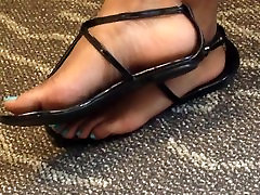 Candid Ebony Feet and Toes