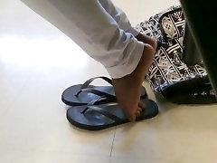 Classmates Candid Ebony Feet