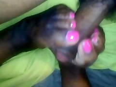 ebony footjob from my ex gfs twin fj