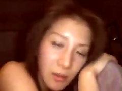Hard pounding asian gf. Leonia from 1fuckdate.com