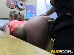 Fake Cop Hot gym MILF pulled over and fucked
