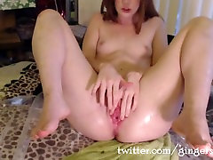110 Squirts by Tiny Teen Gingerspyce - The World Record - Part 3
