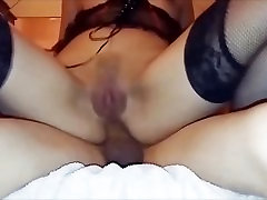 Assfucked Asian Wife Balls Deep With Anal Creampie