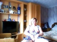 Hot Blonde Mature plays on MaturesCam.club