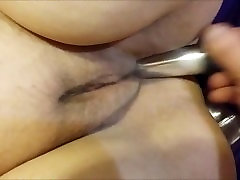 Amateur BBW fucked with a vibrator