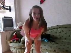 Teen webcam strip