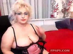 Blonde bbw mature webcam