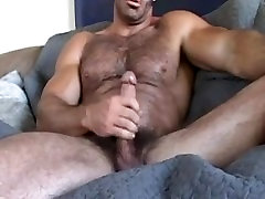 Muscle Daddy Brad Jerk Off & Cum