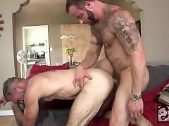 Muscle Daddy Peter Rough Gets Dereks Fat Cock