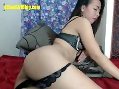 Sexy Asian On Webcam