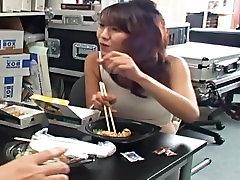 Shame on Shinkosha Shiori ! voyeur enjoys her satin panties: upskirt view 1
