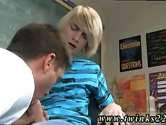 Tanned gay emo movietures Preston wants a blow-job from his colleague and
