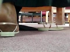 My Friends Candid Ebony Feet in Church 9