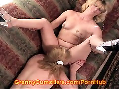 Granny eats ASS and loves that HOLE