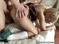 Blonde Teen Russian Sister Anal