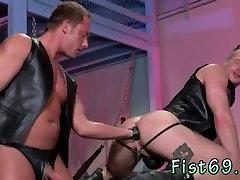 Cumshot anal fisting gay Brian Bonds heads to Dr. Strangegloves office