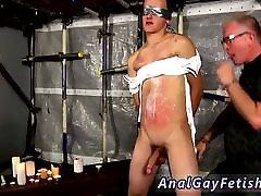 Gay bondage milking and gay free bondage