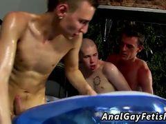 Filipino american male masturbating gay But