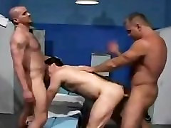 Bear Police in Lockeroom sex