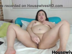 asian bbw with beautiful eyes ride dildo and moam