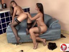 Eve Angel Peaches Wild lesbians HD 1080p