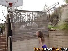 Interracial teen panties