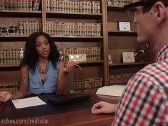 Gorgeous Ebony Femdom Therapy